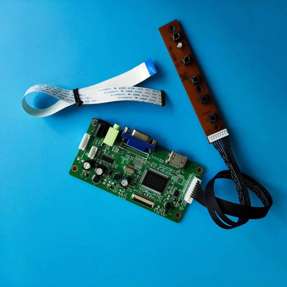 كيت ل LP140WHU-TPC2/LP140WHU-TPE1 سائق المراقب المجلس DIY VGA LCD EDP عرض رصد 1366X768 30pin لوحة 14