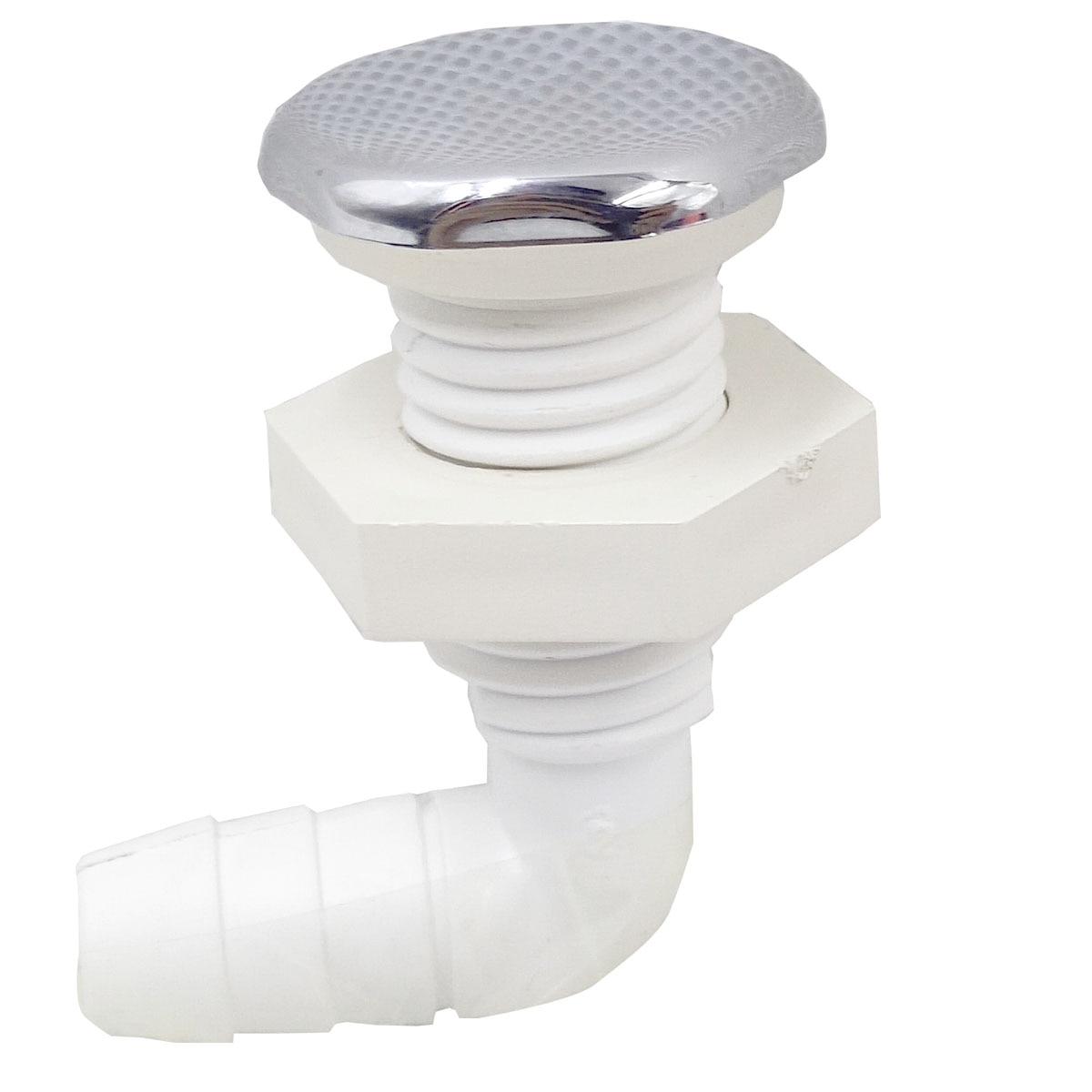 Seis bocal côncavo do ar da cobertura, superfície do cromo, jato de ar com base da textura do pvc, acessórios da banheira da massagem dos termas de 26mm