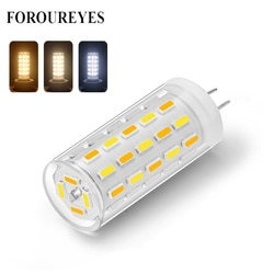Lâmpada led 12 v led g4 3 w smd 4014 54leds lihgt lâmpada três temperatura de cor ajustável conduziu a lâmpada de cristal luz decoração da casa