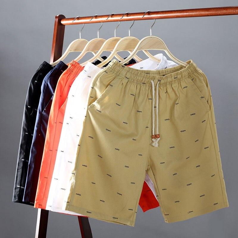 Мужские Короткие повседневные шорты брюки мужские Обрезанные яркие шорты, спортивные штаны, шорты для мужчин; Одежда в Корейском стиле, мод...
