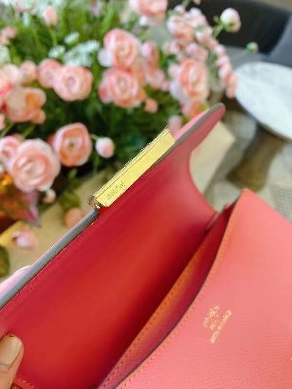 الفاخرة H الكلاسيكية كونستانس السيدات الذهب مشبك الطيران المصاحبة حقيبة مصمم حقيبة كتف 8 ألوان لاختيار حقيبة أنيقة