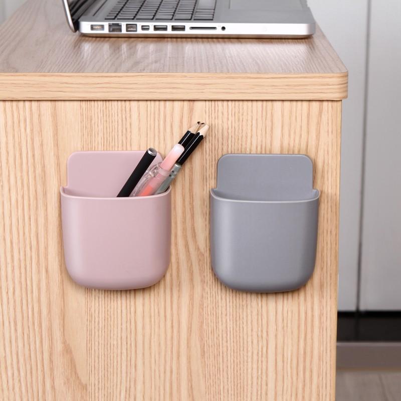 10pcs/lot Desktop Plastic Pen Holder Pencil Stand Desk Office Accessories Stationery Storage Box Supplies