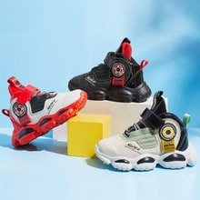 Brand children's shoes 2020 spring and autumn Korean version of the new mid-top sneakers boys casual