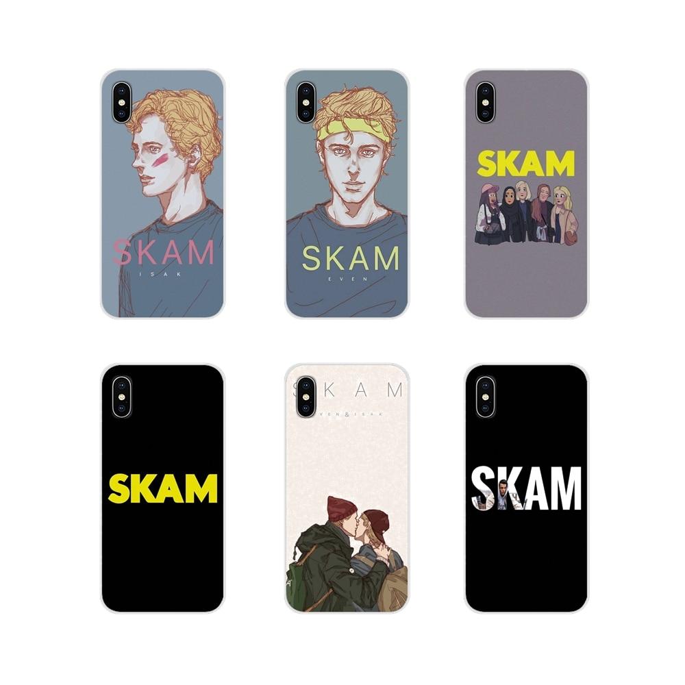 Noruego Gay Drama Skam para Huawei G7 G8 P7 P8 P9 P10 P20 P30 Lite Mini Pro P Smart Plus 2017 2018 transparente 2019 suaves