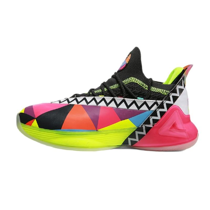 PEAK Tony Parker 7 TAICHI Cushioning Basketball Shoes Men Professional Non slip Basketball Sneakers Adaptive Fashion Sport Shoes
