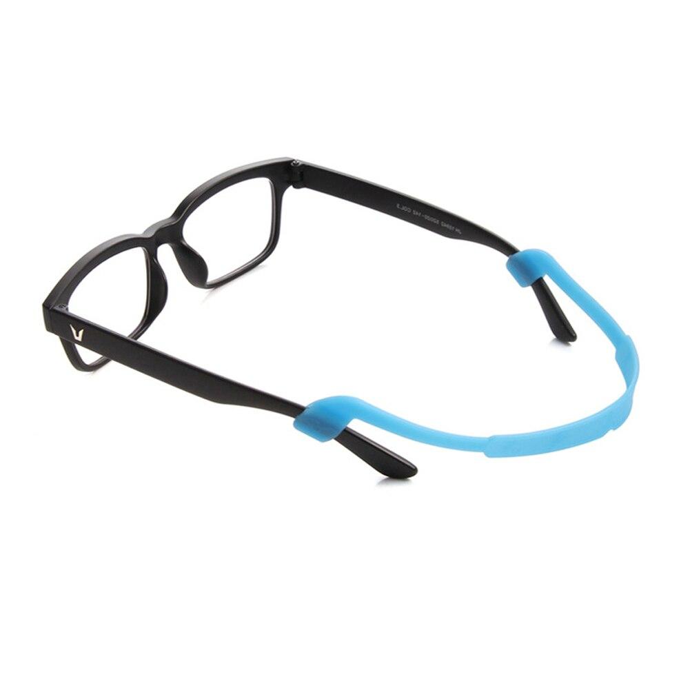 Venda quente 1 pc magnético silicone óculos cinta óculos de sol esportes banda cabo titular anti-deslizamento corda óculos cordas