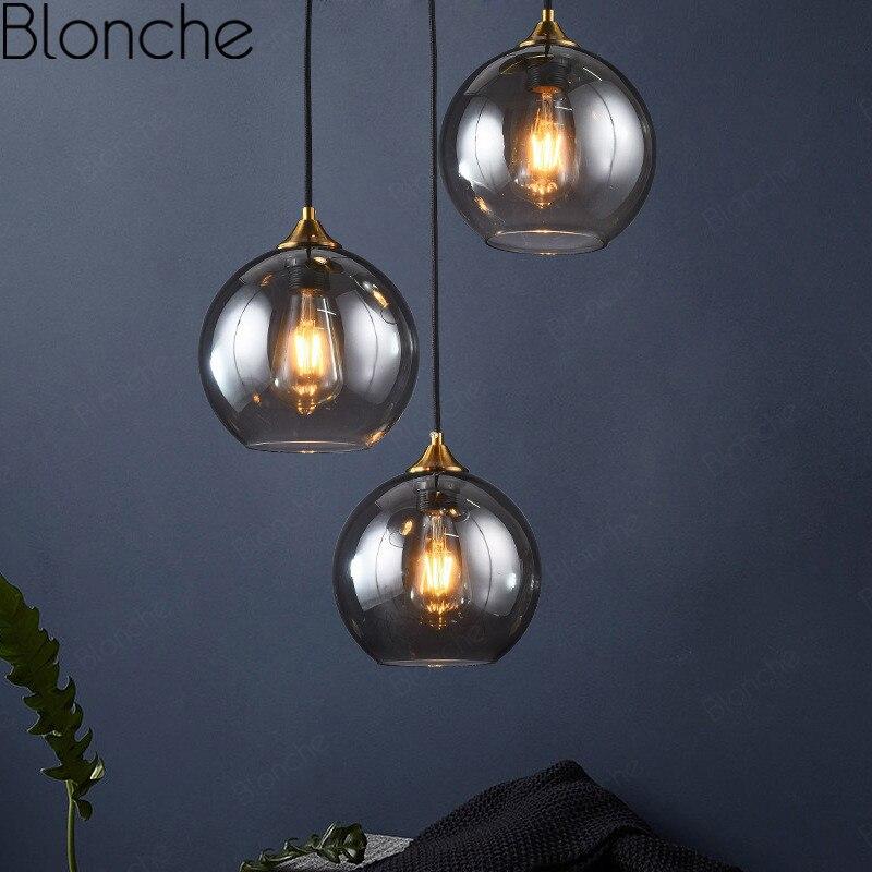 مصباح زجاجي معلق Led بتصميم إسكندنافي إبداعي ، طراز حديث ، إضاءة زخرفية داخلية ، مثالي لغرفة المعيشة أو غرفة النوم أو المطعم.