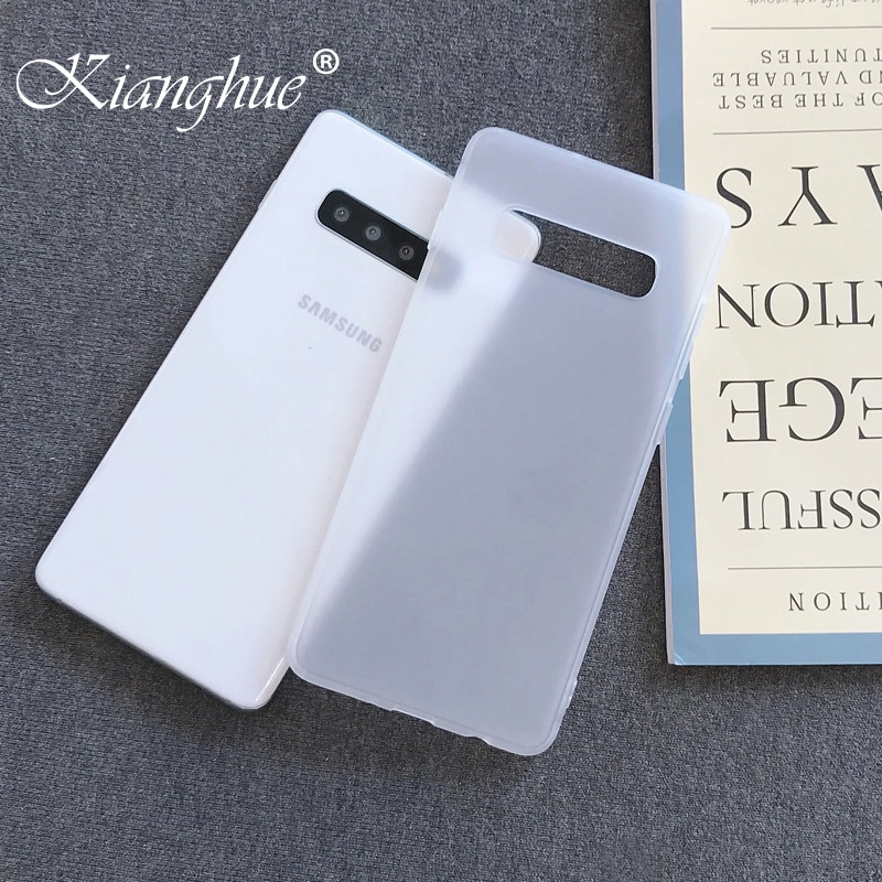 Luxury Slim Silicone Case For Samsung Galaxy S20 Ultra S10 S9 S8 Plus Note 8 9 10 Transparent Matte