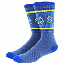2 Pairs  Aztec Men Socks Pack ( 77% Cotton Thick )