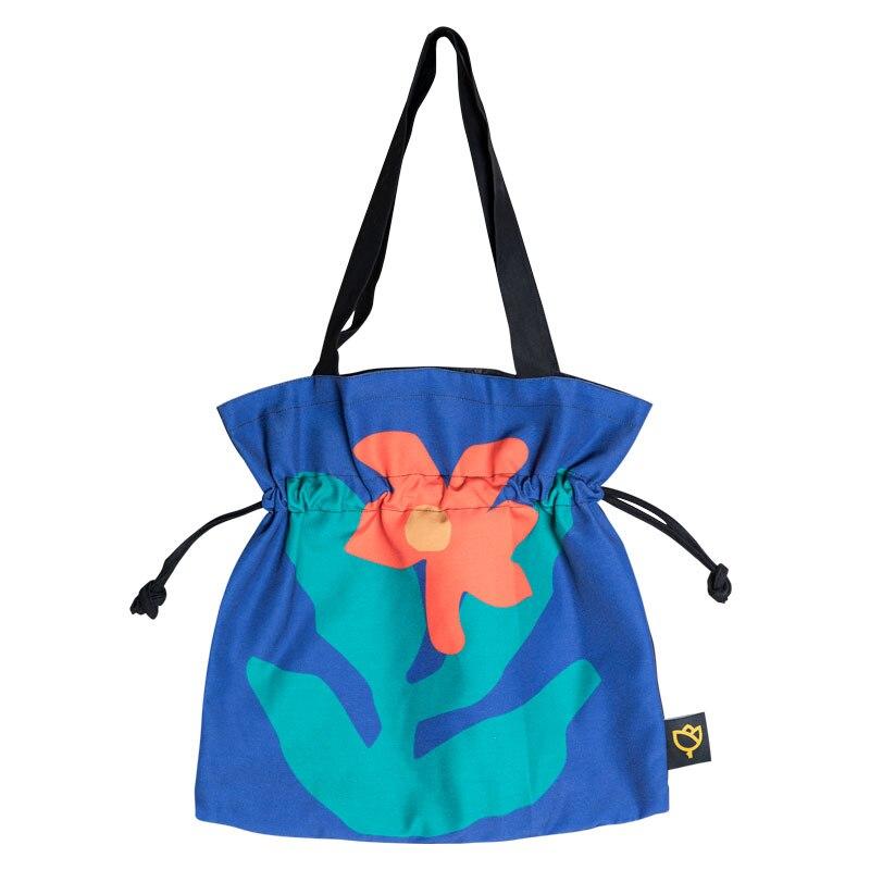Women canvas bag designer original large drawstring tote bag for school college luxury shoulder bags
