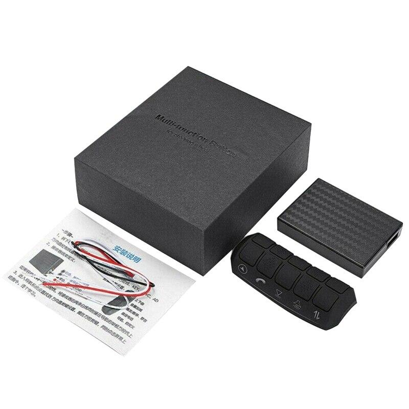 Volante do carro universal botões de controle remoto rádio dvd player gps multi-função controlador sem fio