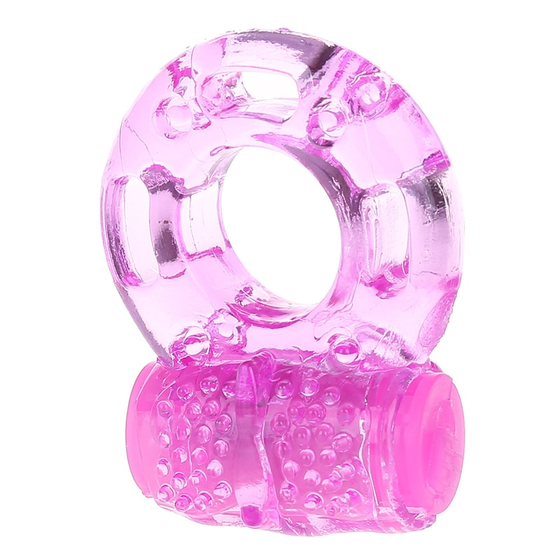 Цвет случайный кольцо волка вибрационные Секс игрушки желе вибрирующие секс регулируемые игрушки для взрослых инструменты вибратор стимулятор для мужчин