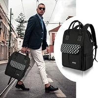 2021 backpack men anti theft business bagpack for 15 6 inch laptop black back pack school backpacking