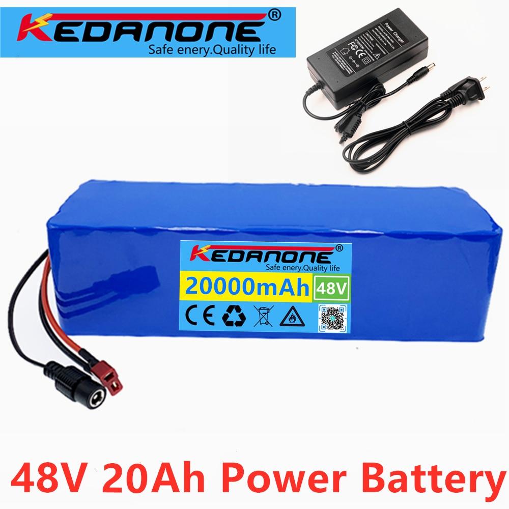48 فولت بطارية أيون الليثيوم 48 فولت 20 أمبير 1000 واط 13S 3P بطارية أيون الليثيوم حزمة ل 54.6 فولت E-دراجة هوائية كهربائية سكوتر مع BMS + شاحن