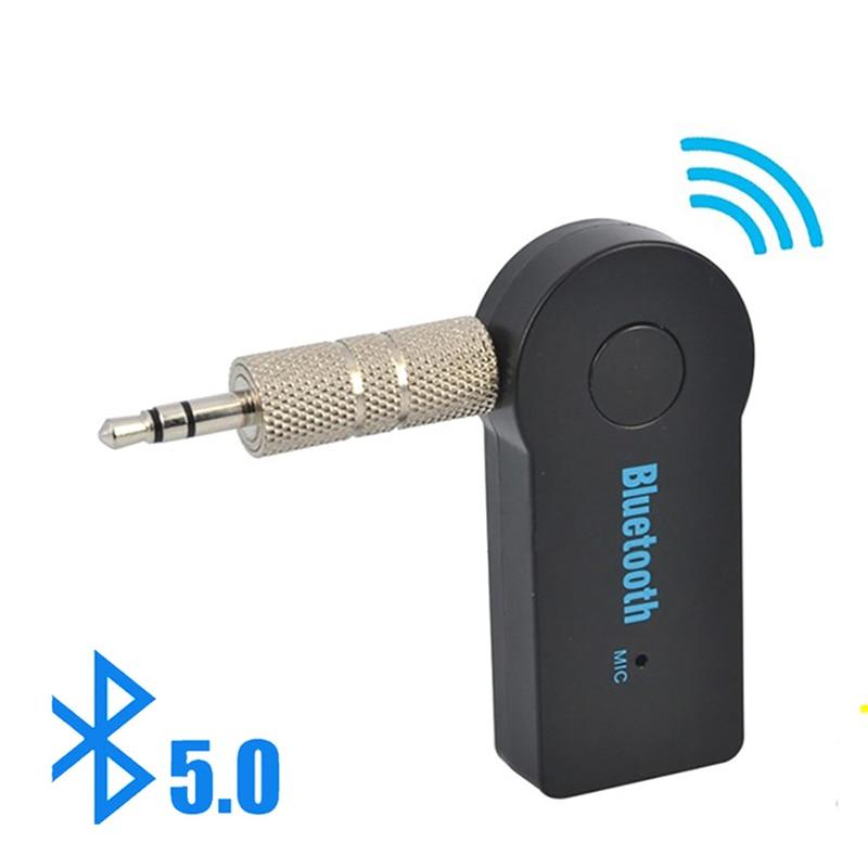 Adaptador de receptor y transmisor inalámbrico Bluetooth 5,0 2 en 1 conector...
