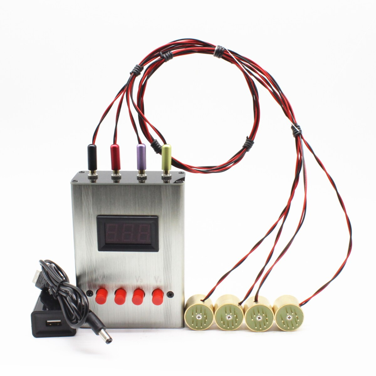 V8 Checker EL84 6BQ5 EL34 KT88 75917591A 6L6 6CA7 6V6 5881 6550 KT66 KT100 KT120 Vacuum Tube Tester Amplifier Bias mA Version enlarge