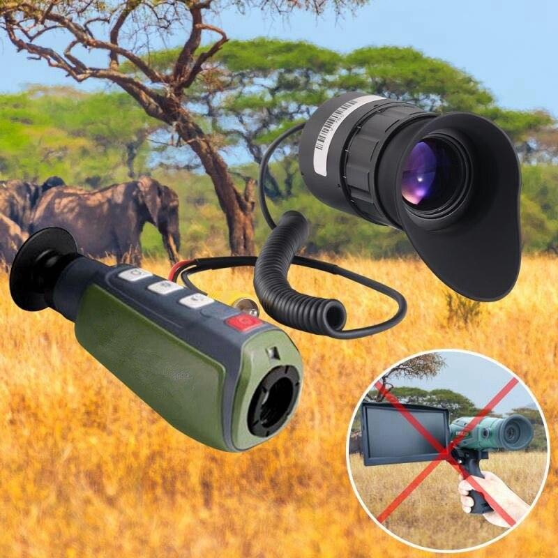 0.5 Inch Mirco OLED USB CVBS 1024X768 Display Eyepieces Camera Lens 5.8G/2.4G Frequency Night Vision Helmet Cameras