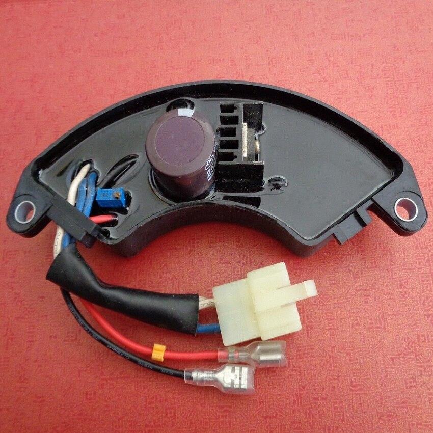 GTDK5-1H21A 5KW واحد مولد ثلاثي المراحل AVR ، GTDK 5KW مولد AVR أجزاء منظم جهد كهربائي أوتوماتيكي