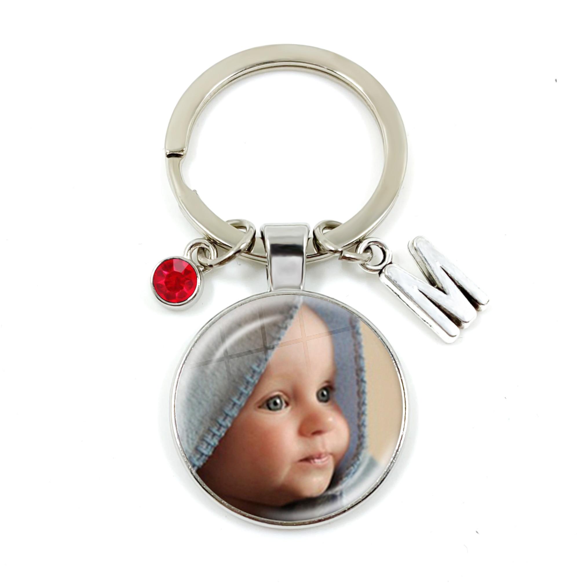 При индивидуальном заказе брелок камень 26 букв фото, одежда для мамы, папы, дочери или сына, детские, для малышей толстый родителей кулон брелок для ключей подарок
