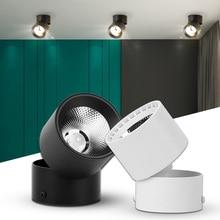 Luces de pista Led, luz de riel de aluminio, 7W, 10W, 15W, accesorio de iluminación, 220V, manchas de luz para sala de estar, dormitorio y cocina