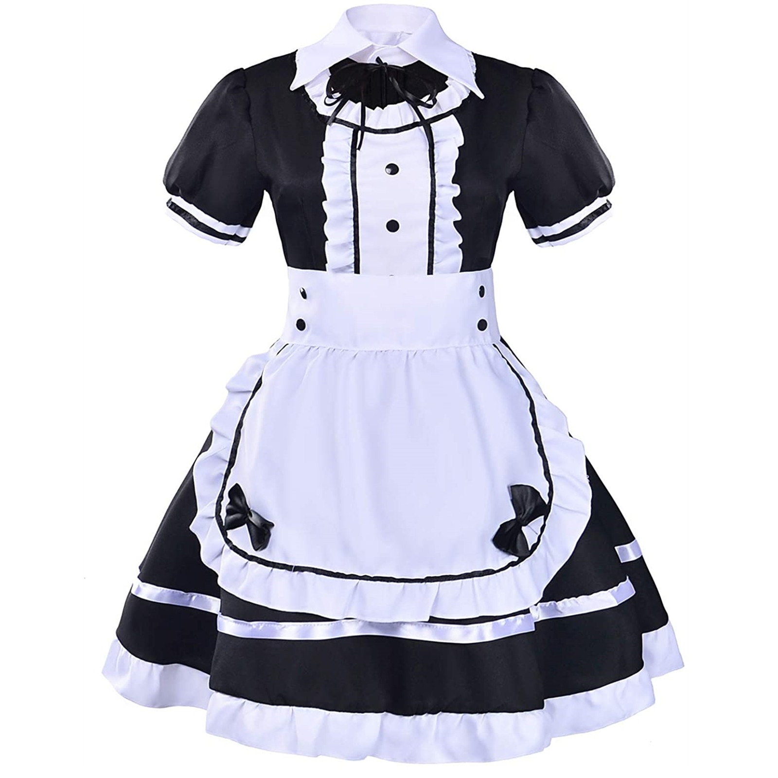 Fashion Comfortable Women Lovely Maid Cosplay Costume Animation Show Japanese Outfit Dress Clothes R