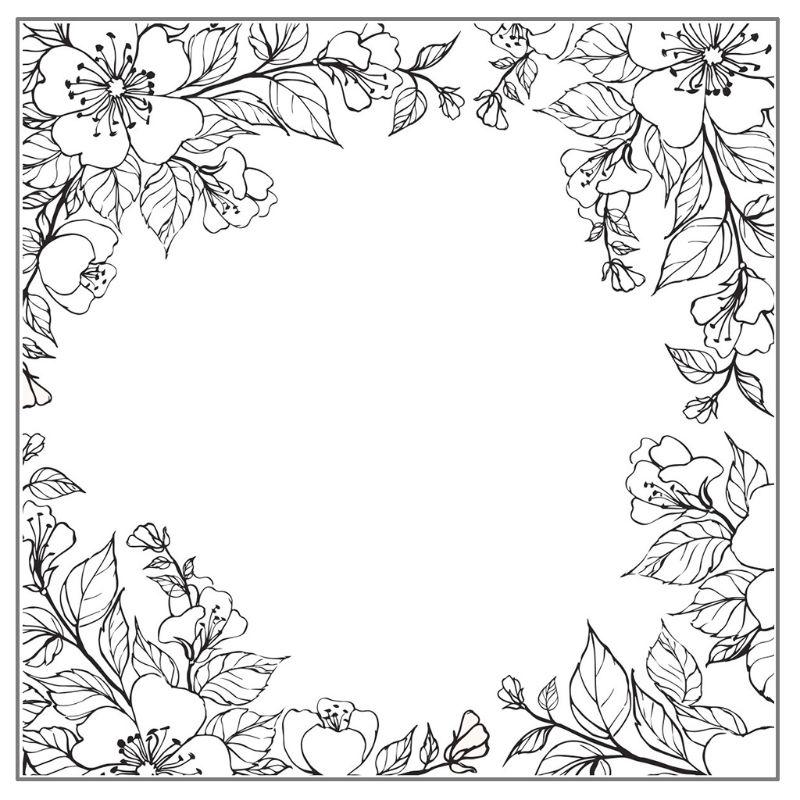 Fondo de flores DIY sello transparente de silicona sello adhesivo repujado para álbum de recortes álbum D08F
