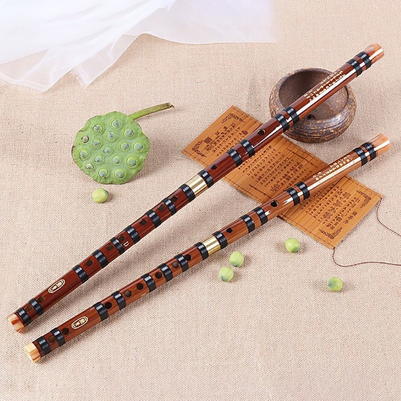 Bambú, instrumentos musicales flauta China Dizi Transversal