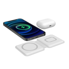 15W Wireless Charging 2 in1 wirless charger for iphone 12 airpods Fast Charging phone accessories Fo