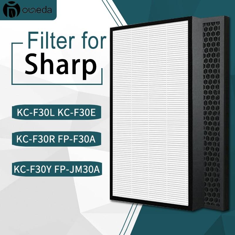 sharp air purifier filter kc a50jw kc a51r b hepa filter fz a51hfr actived carbon filter fz a51dfr filter for humidifier parts Replacement HEPA filter FZ-D40HFE and Carbon filter FZ-D40DFE for Sharp Air Purifier KC-D40 KC-E40 KC-D50 KC-E50 KC-F40 KC-G40
