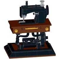 moc classic series sewing machine high tech building blocks bricks set model girls gream assembling for kids toys 244 pcs
