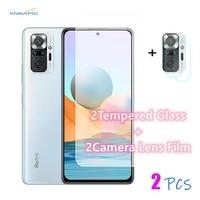for redmi note10 pro tempered glass on the for xiaomi redmi note 10 pro glass hard screen protector camera film forredmi note 10