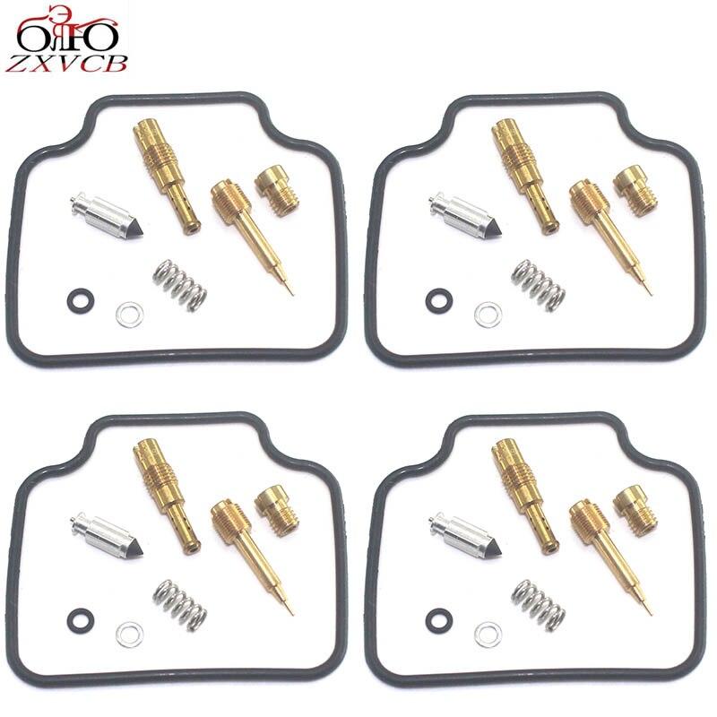 4set for CB1300X4 CB1300SF/SC40 1997-1999 CB 1300 CB1300 SF SC 40 1300SF Motorcycle carburetor repair kit floating needle parts