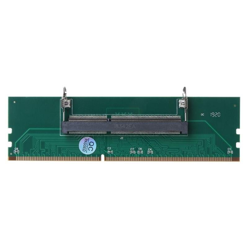 DDR3 SO DIMM A Adaptador de escritorio conector DIMM tarjeta de adaptador de memoria 240 a 204P accesorios de componentes de ordenador de escritorio 83XB