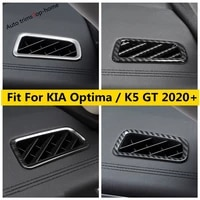 stainless steel abs accessories for kia optima k5 gt 2021 2021 front dashboard ac air conditioning vent frame cover kit trim