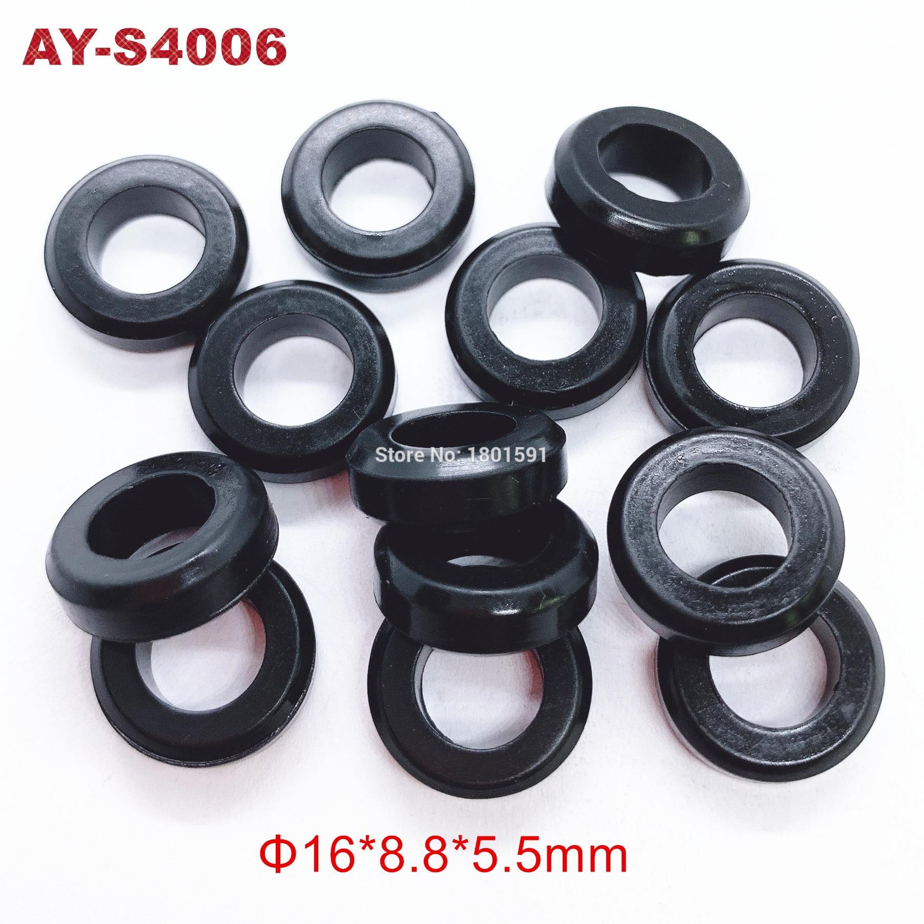 100 peças venda quente selos de borracha o anel 16*8.8*5.5mm para a substituição do kit de serviço injector combustível (AY-S4006)