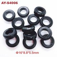 100 pièces offre spéciale joints en caoutchouc o ring 16*8.8*5.5mm pour injecteur de carburant kit de service pièces dauto remplacement (AY-S4006)