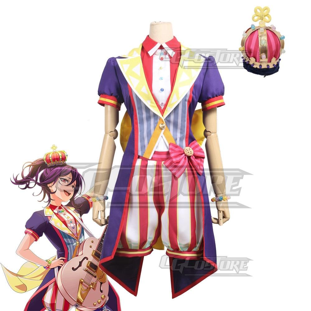 Anime Bang Traum! Seta Kaoru Cosplay Kostüm Hallo Glückliche Welt! 2nd Einzelnen Uniform Weihnachten Halloween Freies verschiffen CG346