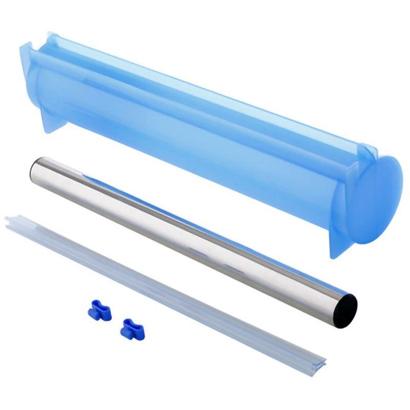 Plastic Wrap Dispenser Aluminum Foil Holder Box for Cutting Film Food Wrap Cling Film Cutter Kitchen Film Organizer Blue