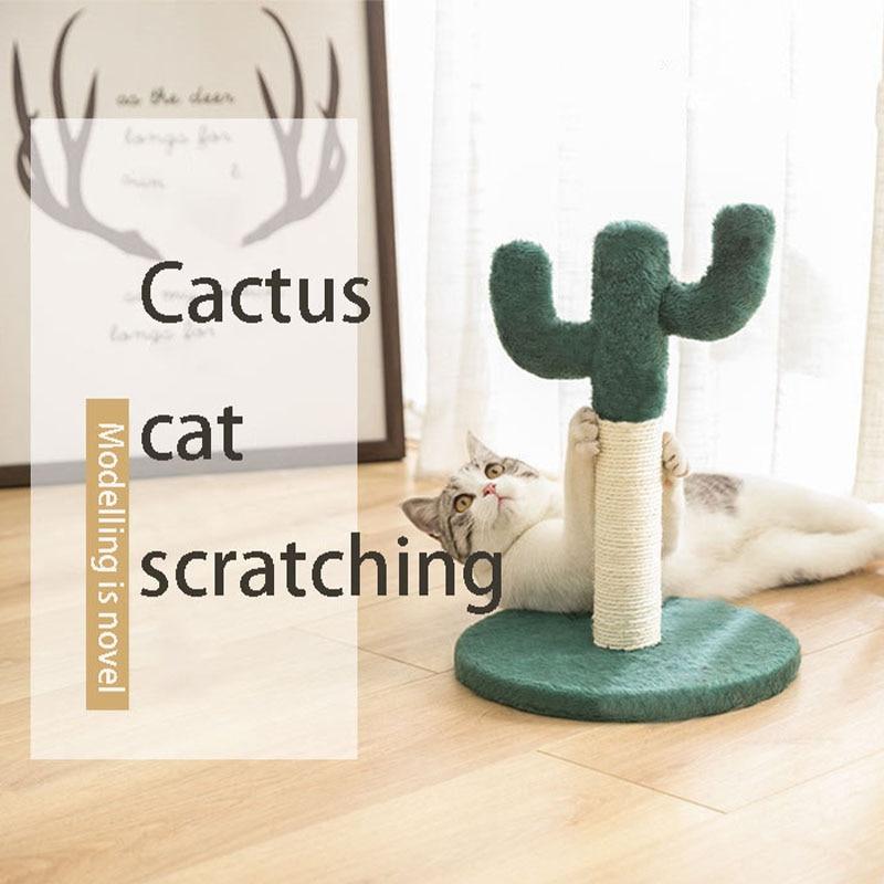 Кошачья Когтеточка для скалолазания, соответствующая когтеточкам с кактусами-Защитите свою мебель с натуральными сизальными когтеточками...