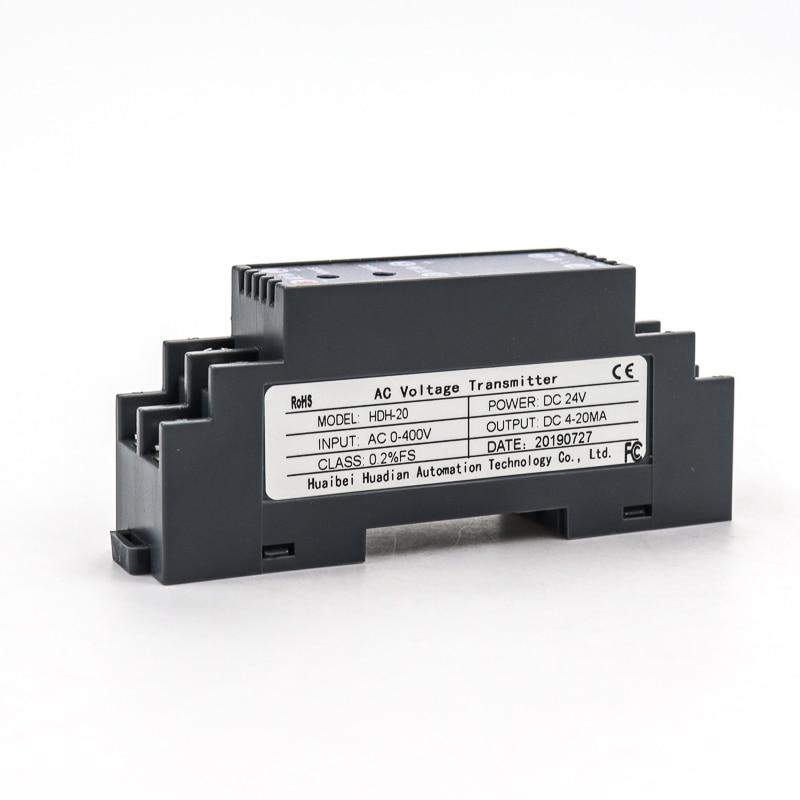 0-500V eingang elektrische messumformer ac spannung sensor sender 4-20ma ausgang