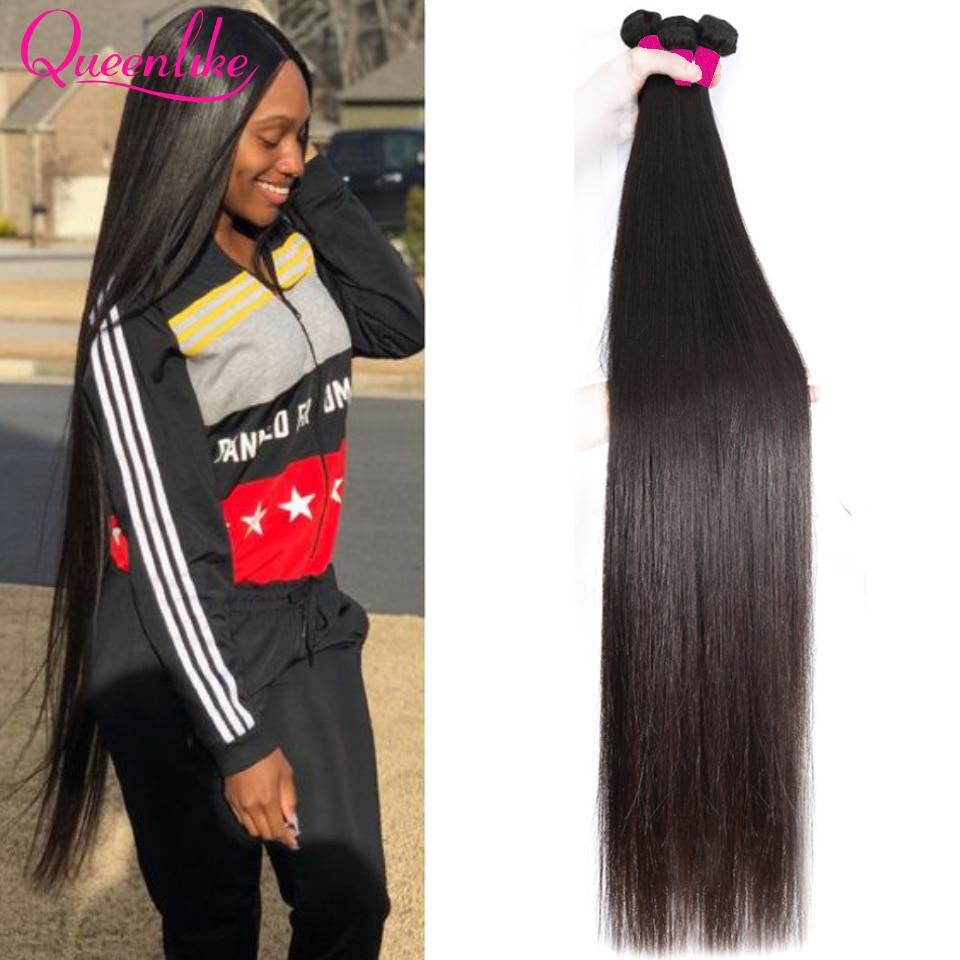 Blonde 613 Color 28 30 32 34 36 38 40 Inch Long Brazilian Straight Hair Bundle Human Hair Remy Brazi