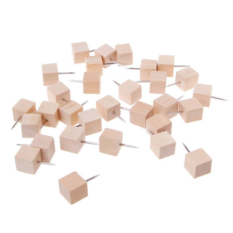 30 шт./компл. деревянный большой палец квадрат креативный декоративный инструмент