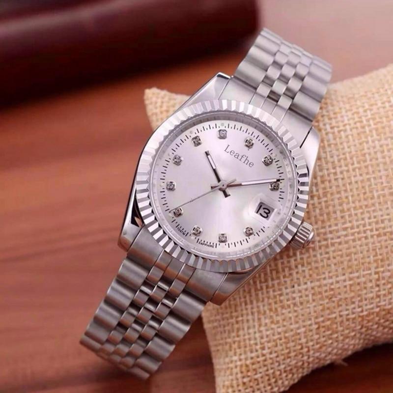 New women's watches stainless steel diamond women quartz watch gold silver fashion clock date function relogio feminino enlarge