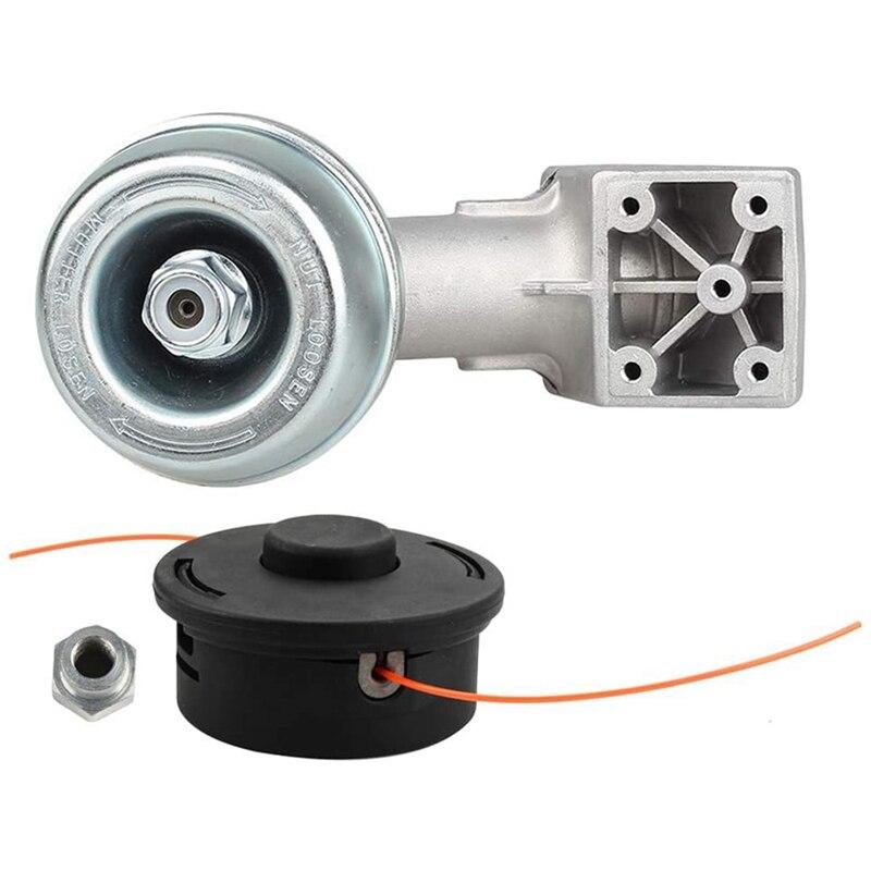 FS90 Gearbox Head Housing + Trimmer Head Replacement Parts For STHIL FS120R FS200R FS240C FS250 FS250R FS260C Parts Kit