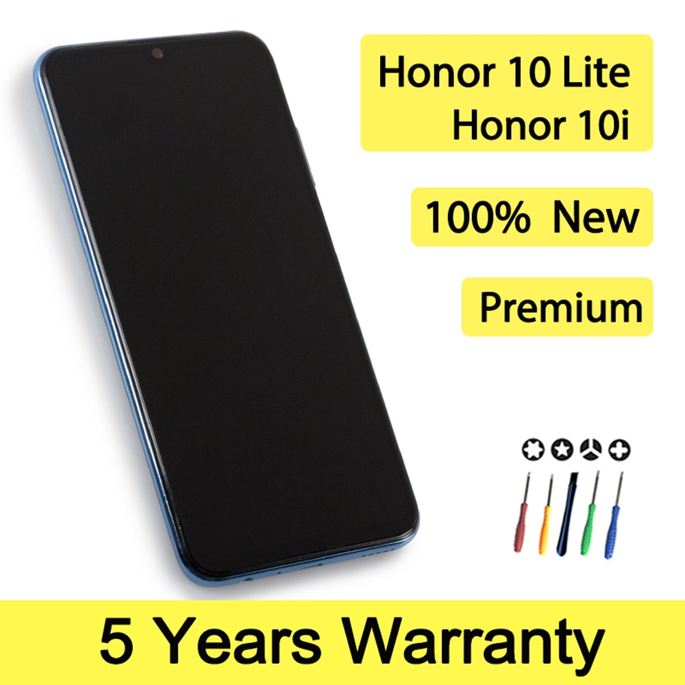 100% New Lcd For Huawei Honor 10 Lite Display Touch Screen with Frame Wholesale Screen Display For honor 10i Lcd HRY-LX1 HRY-LX2 enlarge
