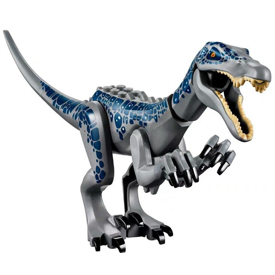 Jurassic World 2, bloques de construcción, figuras de dinosaurios, bloques de Tiranosaurio Rex Indominus Rex, i-rex, juguete para niños, regalo