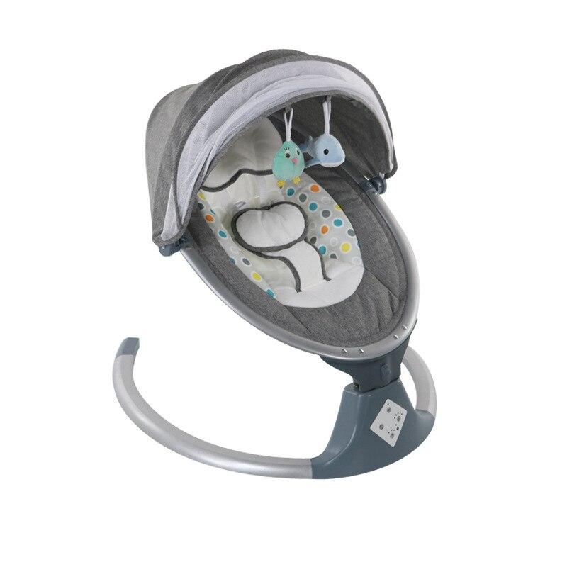 Креативная Колыбель LazyChild для новорожденных, корзина для сна, люлька для младенцев, качели, Электрическое Кресло-Качалка