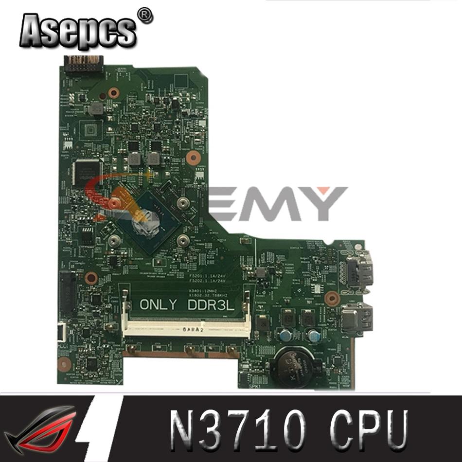 Akemy لديل انسبايرون 3452 3552 3451 اللوحة المحمول CN-0V0D1T 0V0D1T V0D1T بنتيوم N3710 CPU 14279-1