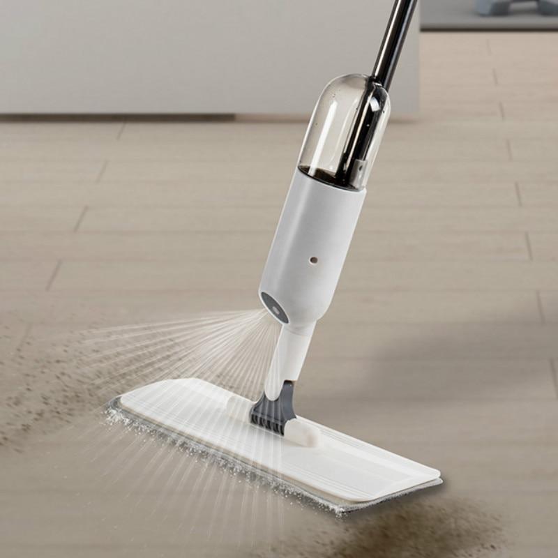 Almofadas de Microfibra Spray Limpeza Lavagem Chão Grande Substituição 360 Graus Preguiçoso Da60tb Mop