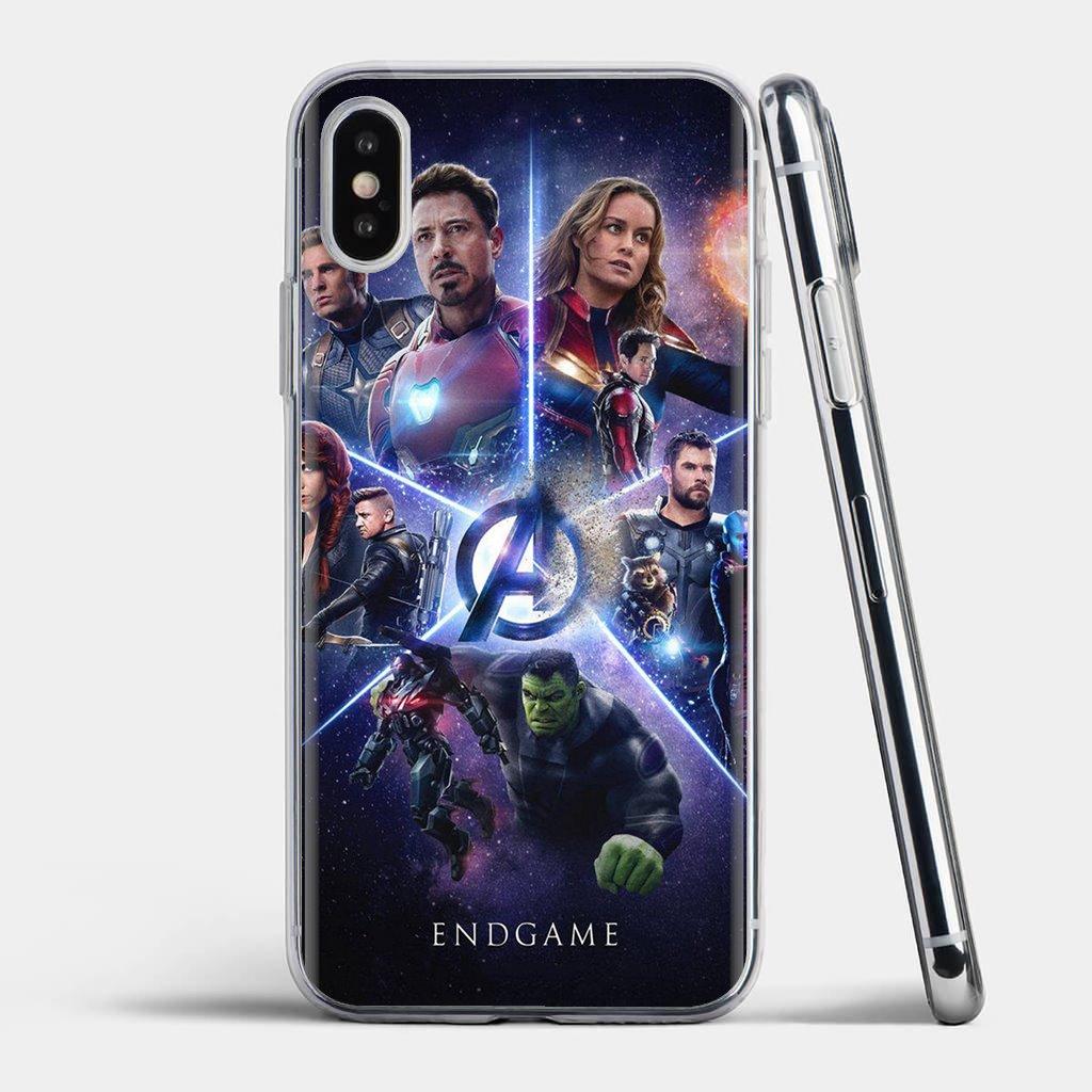 Para ZTE Blade A520 A512 A452 A602 A5 2019 V6 V7 V8 V9 V10 Lite Viat Hipster de la caja del teléfono de silicona Los vengadores de Marvel